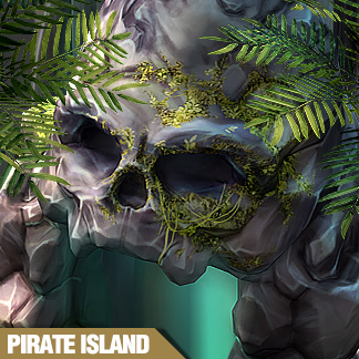 Treasures of Pirate Island – Game Assets