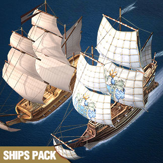 Pirate Ships Collection – 3ds Games Sprite