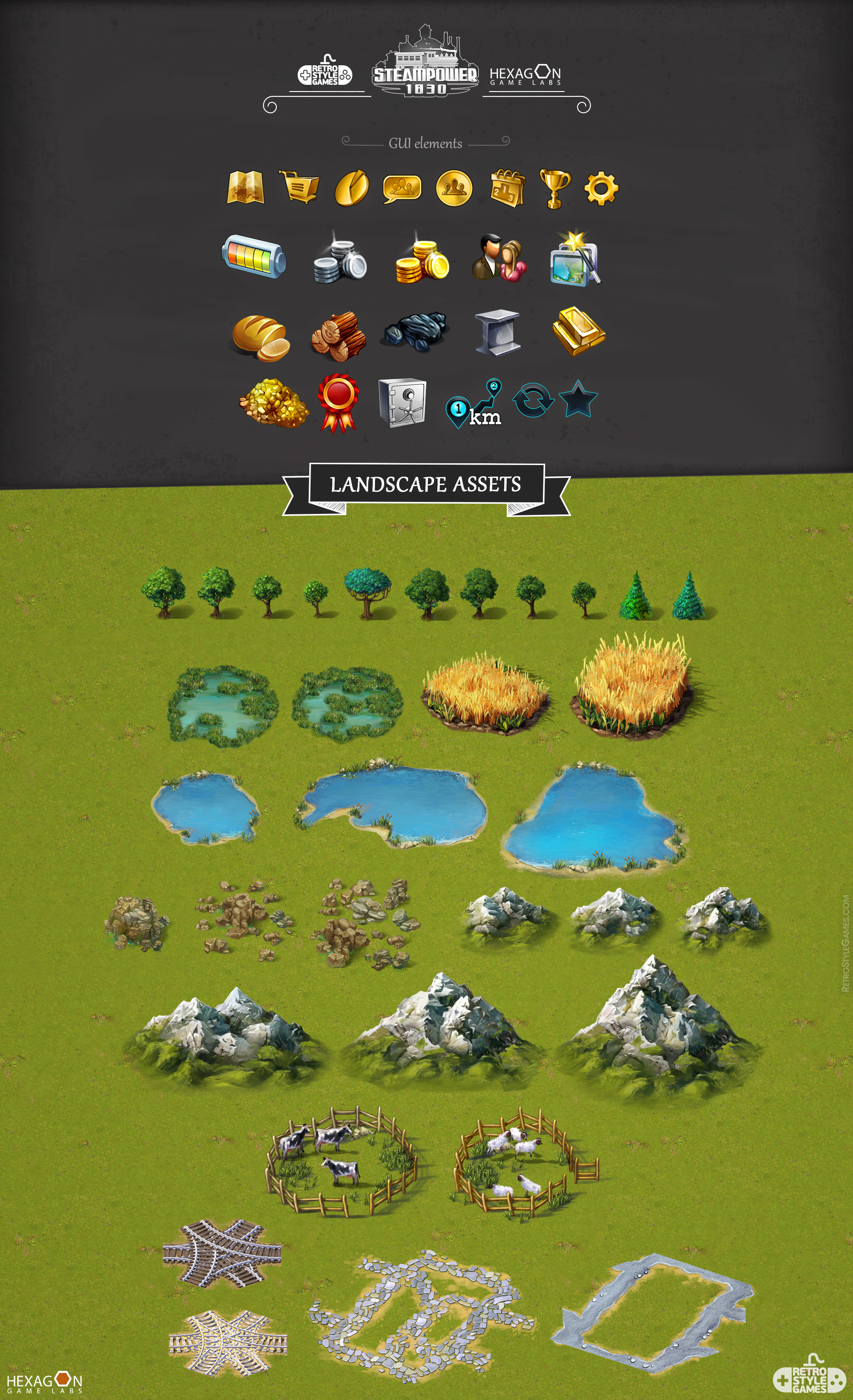 Steampower 1830 Isometric Game Sprites sheet-07