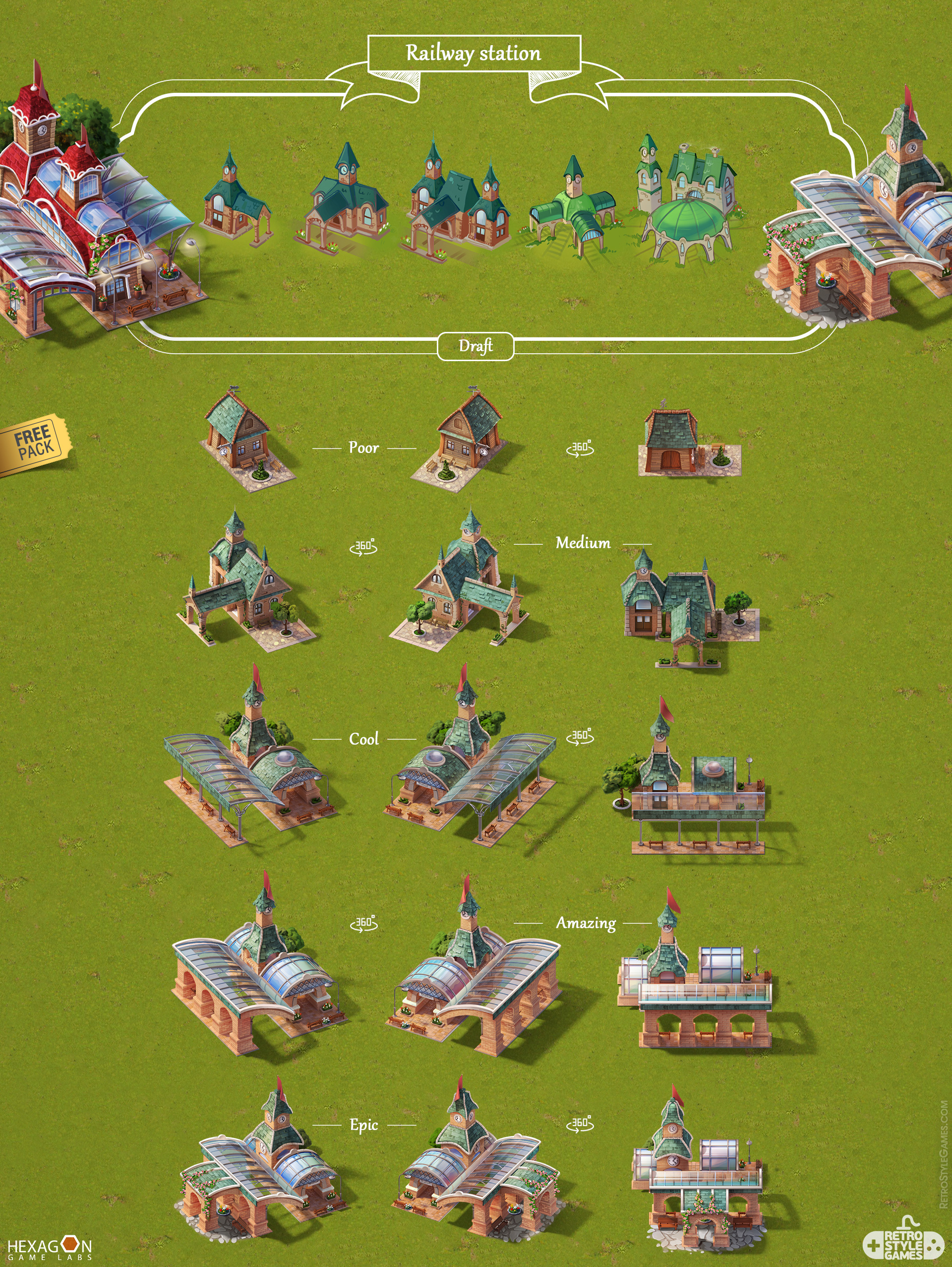 Steampower 1830 Isometric Game Sprites sheet-11