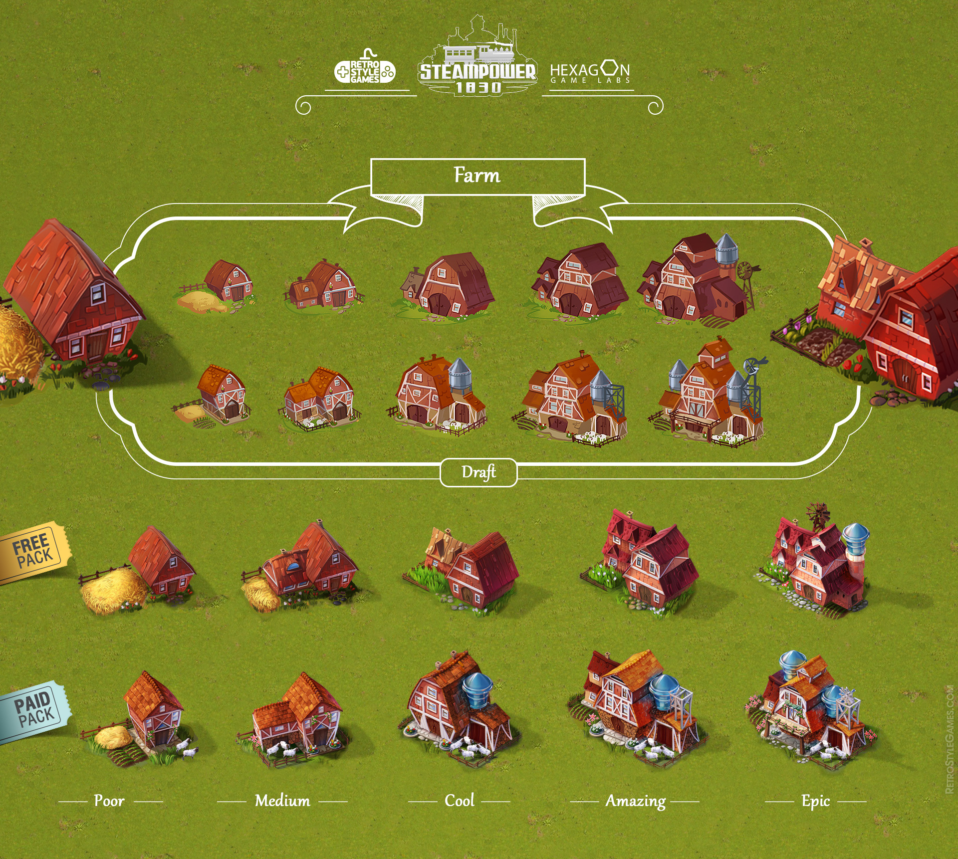 Steampower 1830 Isometric Game Sprites sheet-14