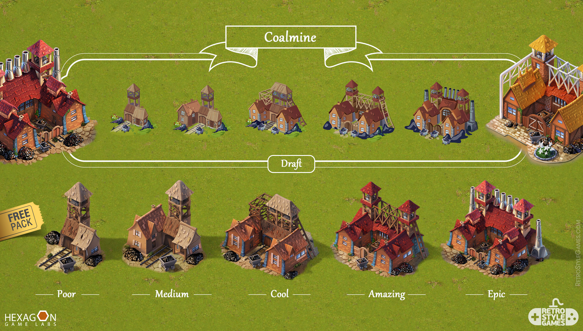 Steampower 1830 Isometric Game Sprites sheet-15