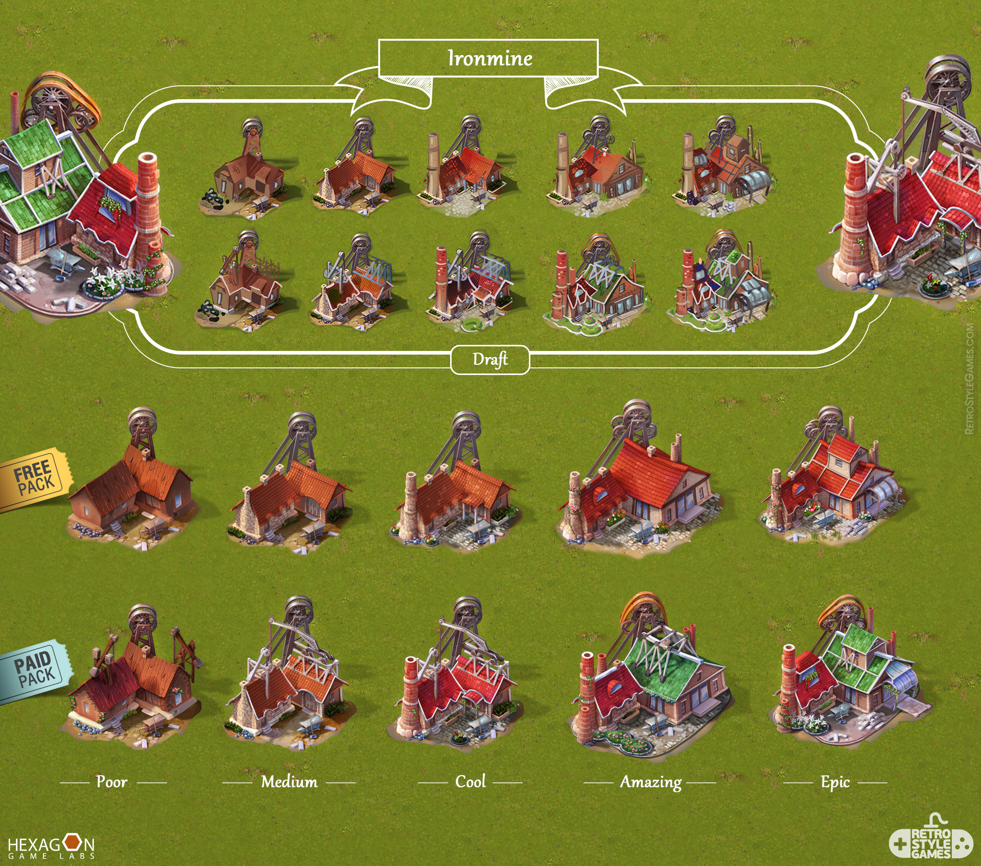 Steampower 1830 Isometric Game Sprites sheet-16