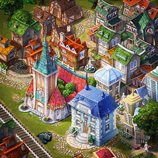 Steampower 1830 Tycoon – Full Art Production