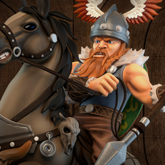 Celtic Tribes – 3D Game Sprites Production