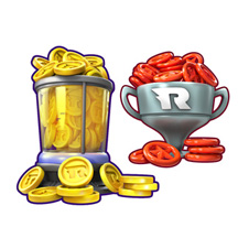 Cartoon IAPs Game Icon Set Star Coin Sonic