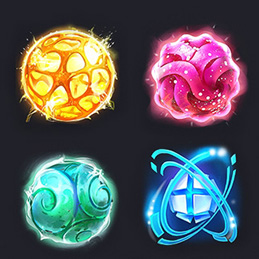 Game Design Icon Boost Force Spell Skill Scifi