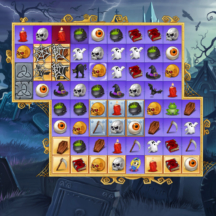 Game Icon Match-3 Skull Ghost Cemetery Potion GUI