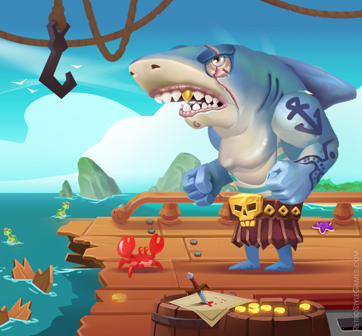 Pirate Characters Spine 2D Animation – Unity Assets Free