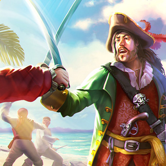 Pirate Concept Art Battle Captains Treasure Island