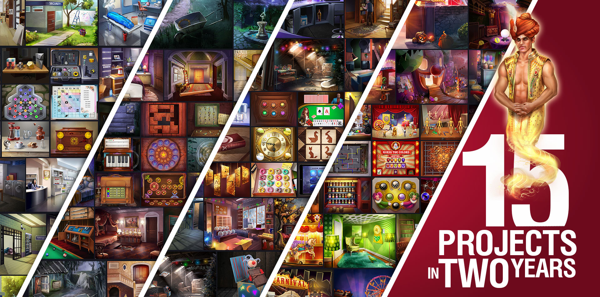 Realistic Design Icon Inventory Library Hidden Object GUI