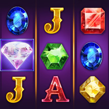 Slot Machine Game Icon Jewel Gems Diamond GUI