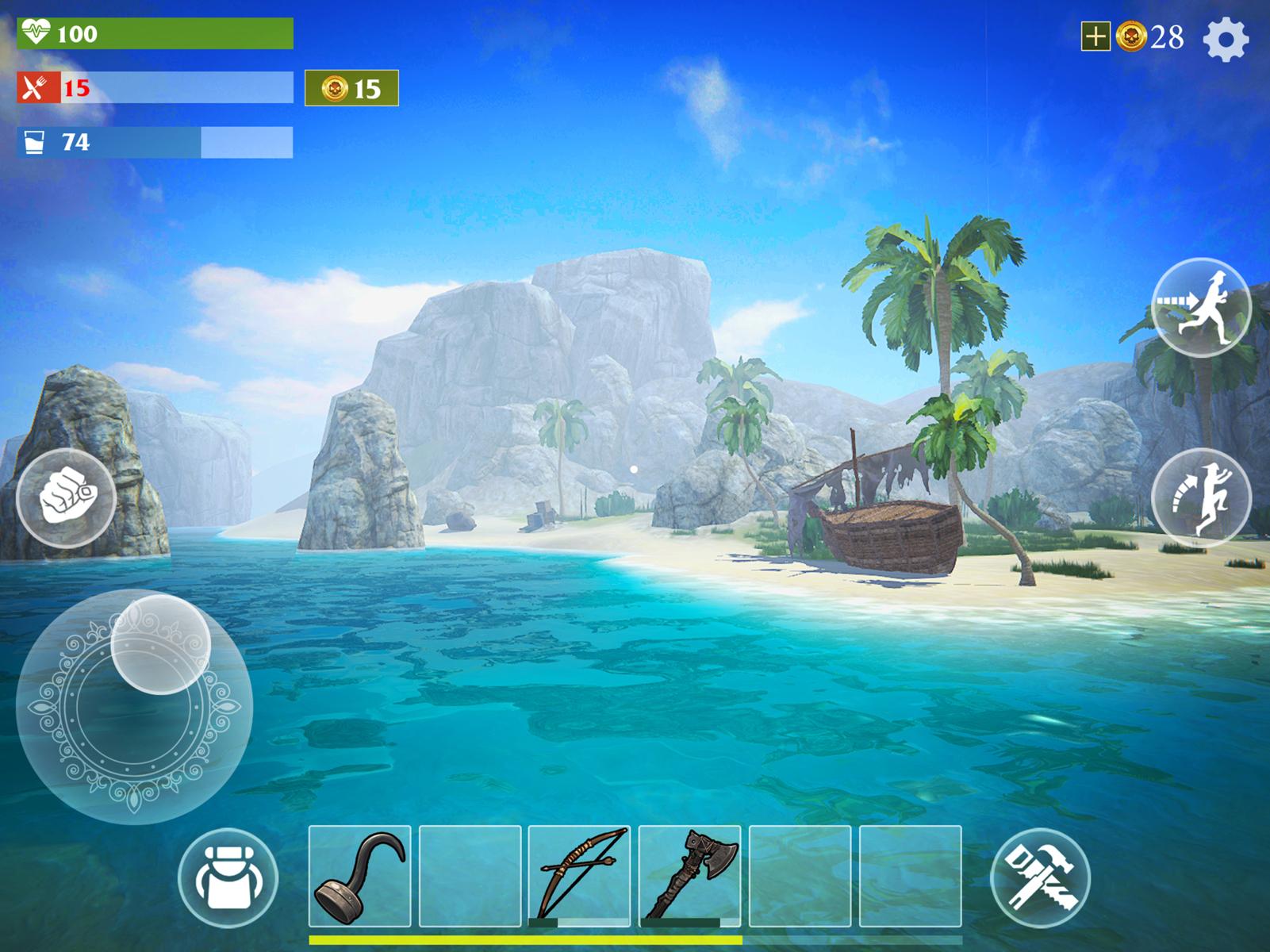 Survival Pirate GUI Design Flat Icon Action