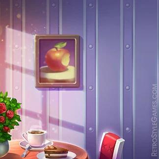 2d Game Illustration Background Interior Manor Cafe