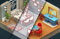 How to Make Isometric 3D Sprites – Homescapes Room