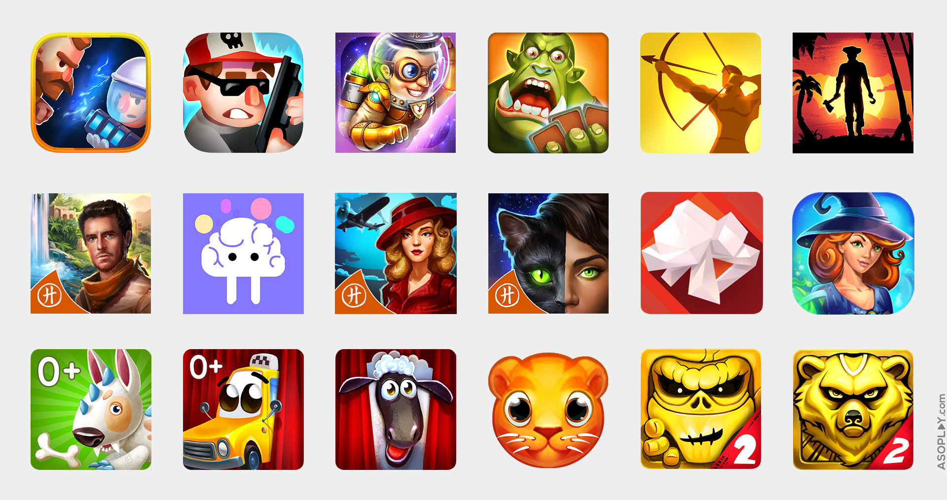 icon design and icon optimization for mobile games and apps