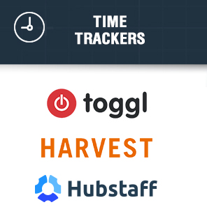 Time trackers PM tools