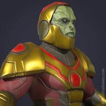 3D Superhero Modeling Character Design Sci-fi X-Men Darkseid