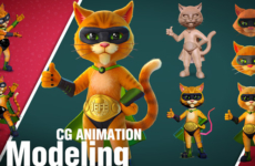 3D Modeling and CG Animation – 3D Character, Animals, Game Models