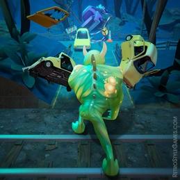 Level Design Environment 3D Modeling Zombie Runner Top