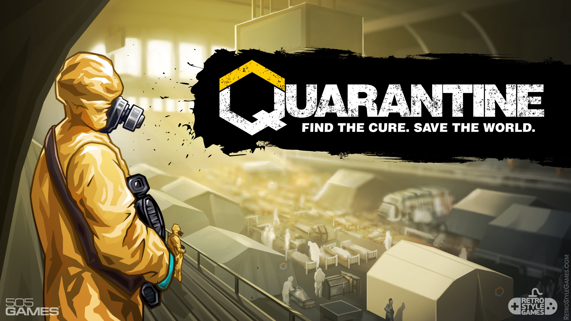 Quarantine 2D Background Infirmary Stadium Epidemic Plague