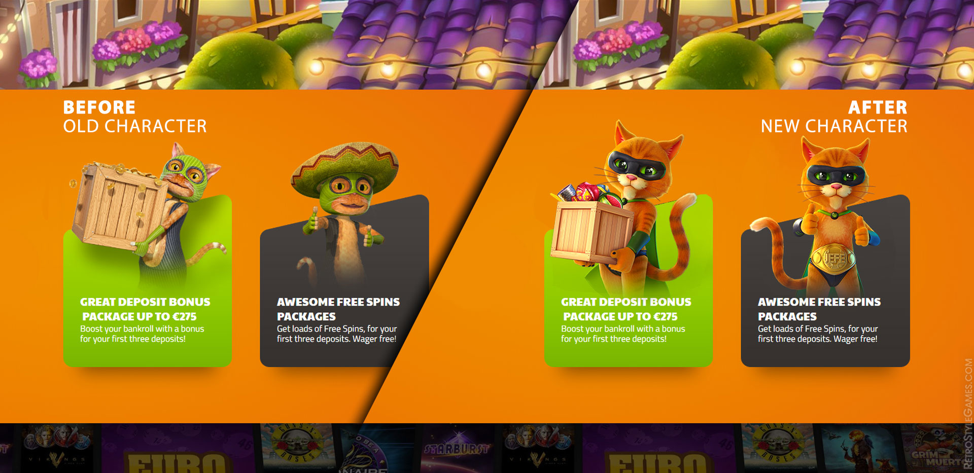3D Stylized Character Cat Before After Final Review App
