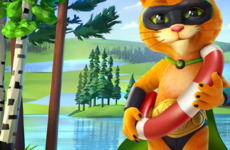 Jefe Cat – 3D Character (Puss in Boots, Talking Tom)