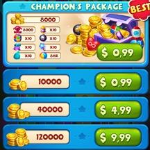 Toy 2D IAPs Game Icon Shop Chester Bundles