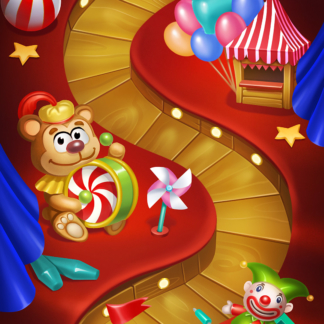 Toy Blast 2D Levels Games Match-3 Circus