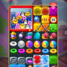 Toy Tap Fever Gameplay GUI IAPs Icon Baloon Jelly Ice