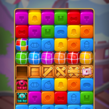Toy Tap Fever Gameplay GUI IAPs Icon Cubes Jelly Bomb