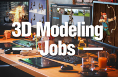 3D Modeling Jobs and 3D Software
