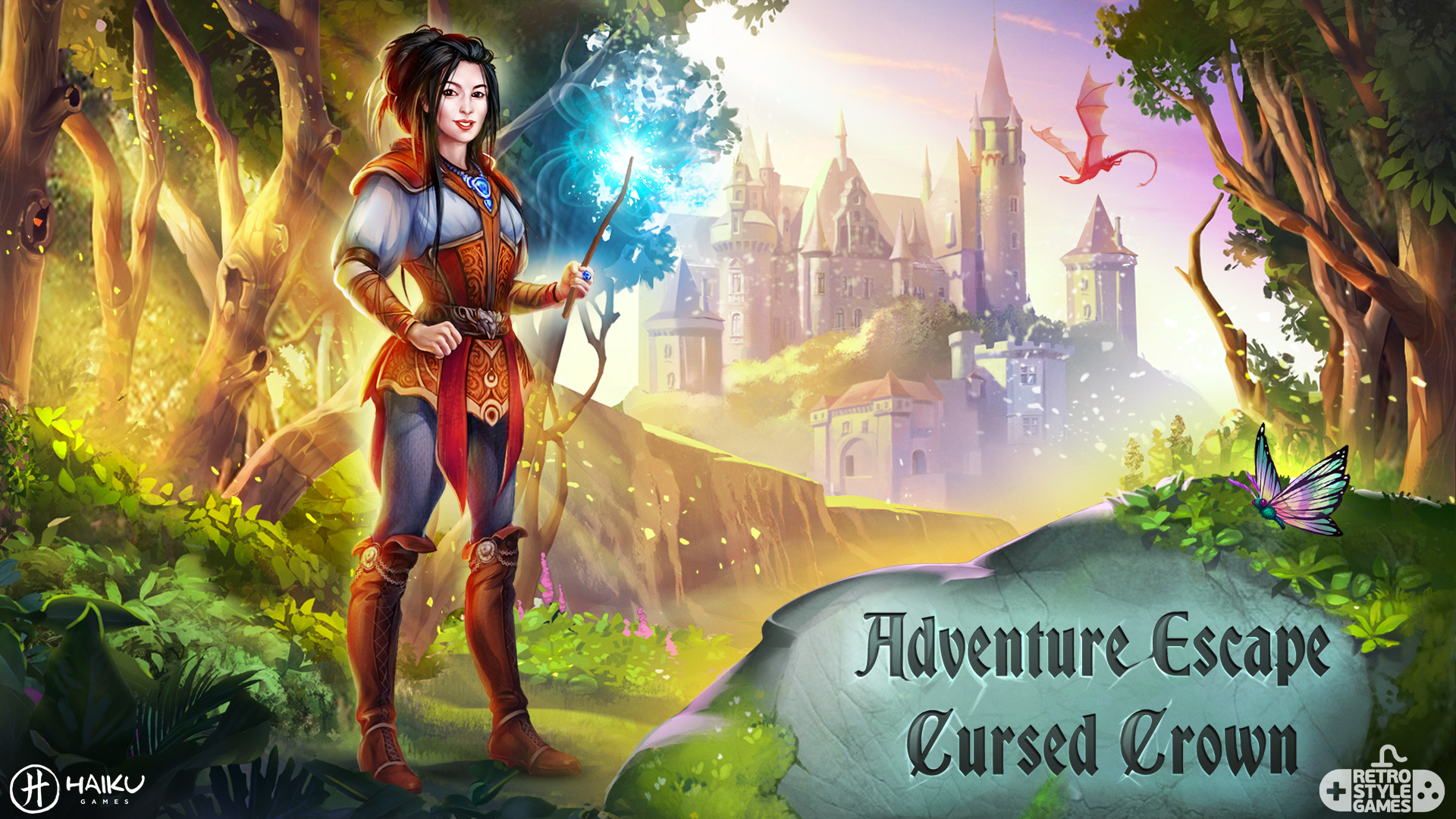 Haiku Cursed Crown 2D Characters background Game of Thrones