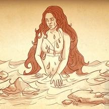 Haiku HOG Pirate Island Character Mermaid Papyrus