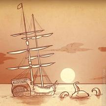 Haiku HOG Pirate Ship Sea of Thieves Kraken