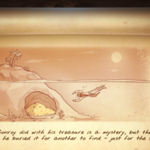 Haiku HOG Underwater Pirate Treasure Cave