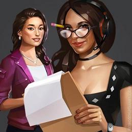 Haiku Polygonal 2D Choose Character Presenter Detective
