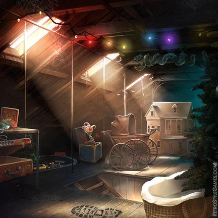 Haiku 2D Realistic Background Club Poker Casino Morgue