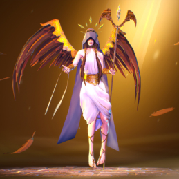 3D Game Character Chess Stylized Rigging Animation Angel