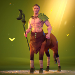 3D Game Character Chess Stylized Rigging Animation Centaur