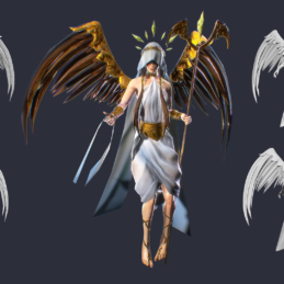 3D Modeling Character Rigging Animation Angel