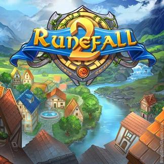 Adventure Game Logo Design Concept WIP Runefall