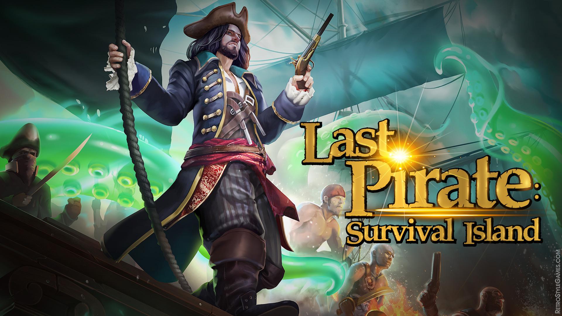 Adventure Game Logo Last Pirate Survival
