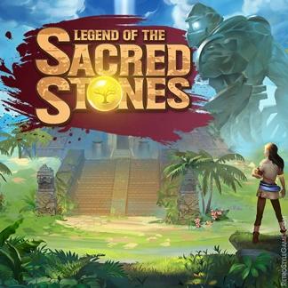 Adventure HOG Game Logo Design Concept Sacred Stones