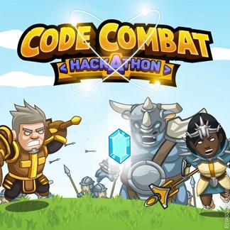 Cartoon Stylized Game Logo Design WIP Code Combat