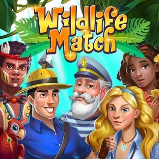 Casual Game Logo Design Concept Animal Drop
