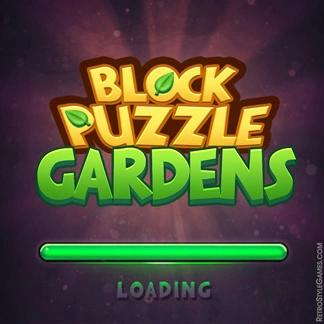 Casual Game Logo Design Concept Block Puzzle