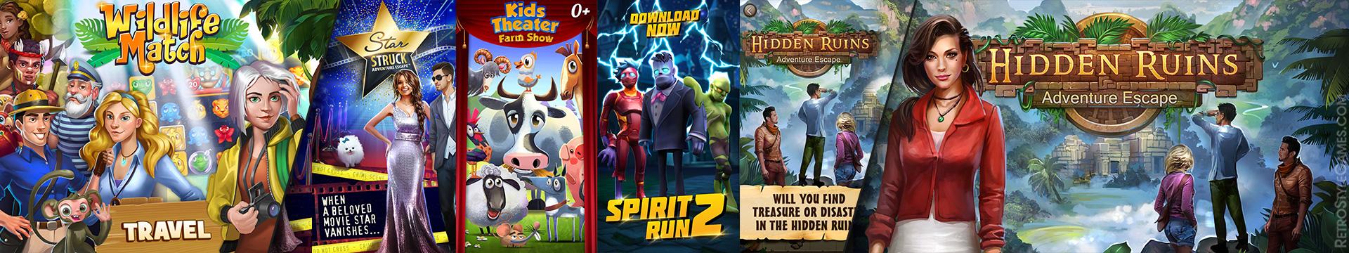 Game Logo Сreatives Variant Screenshots WIP AppStore