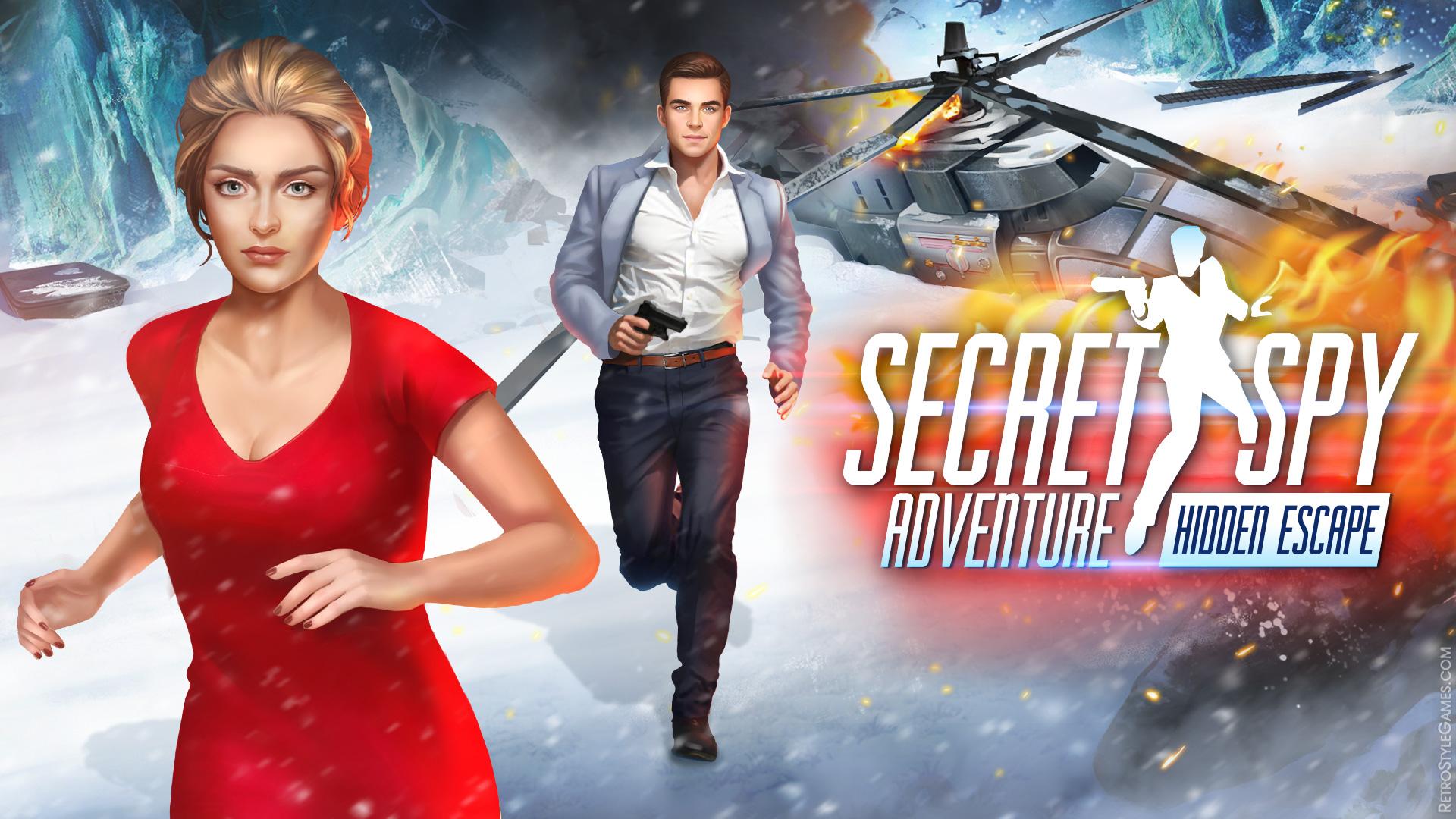 HOG HOPA Game Logo Design Secret Spy Adventure