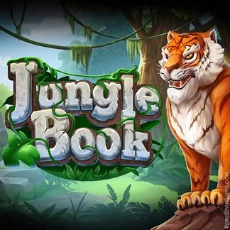 Slot Machines Game Logo Design WIP Jungle Book
